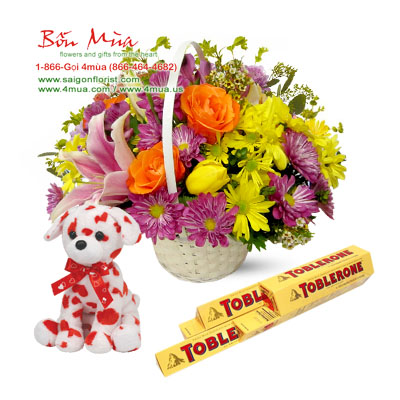 Flowers and Gifts (4mua VLO-004)