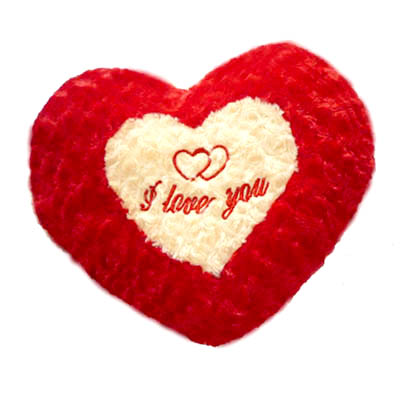 Heart pillow stuffed I Love You (4mua VOT-001H2)
