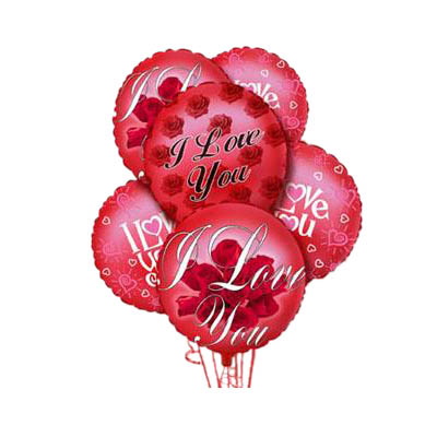 I Love You Balloon Bunch (VOT-002I1)