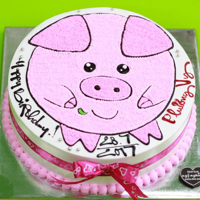 Animal birthday Cake 22cm (4mua VOT-006AN22)