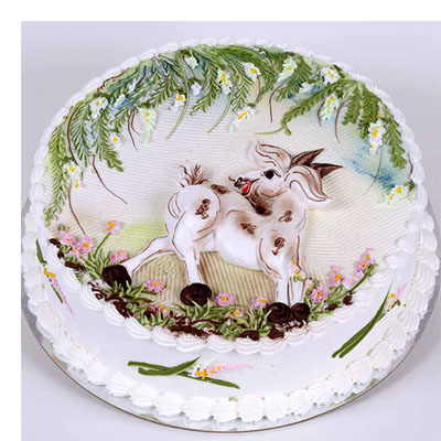 Animal Designations Cake for 25cm (15 persons) (bonmua VOT-006AN_A)