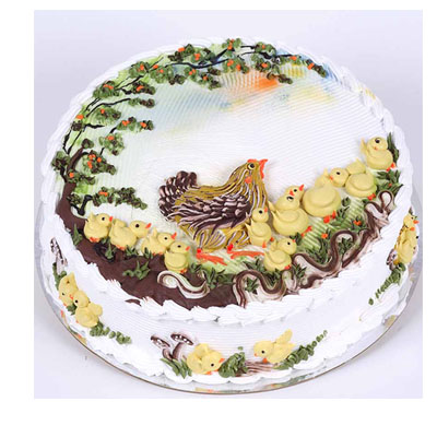 Animal Designations Cake for 30 persons (bonmua VOT-006AN_B)