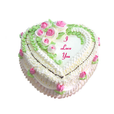 Heart Cake for 8-10 persons (bonmua VOT-006H)