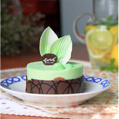 Dessert - Mint Chocolate Bavaroise / 6 mini cake / SaiGon only (4mua VOT-006MINTCHOmini)