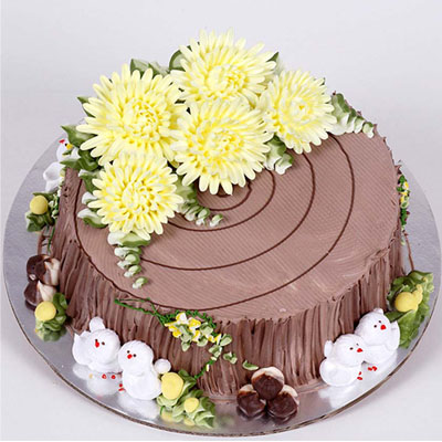 Birthday Cake for 8-10 persons - Saigon Only (bonmua VOT-006SN2)
