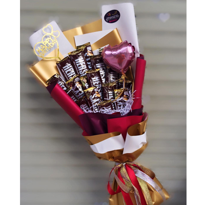 Hershey's Chocolate bouquet 18pcs (4mua VOT-CHBO1001)