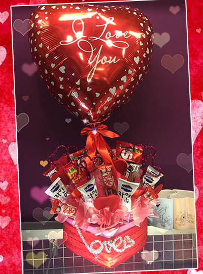 Chocolate bouquet gifts (4MUA VOT-CHBO1706)