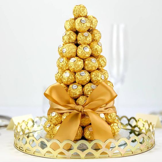 Tower Ferrero Roche chocolate 48pcs (4mua VOT-CHBO1748)