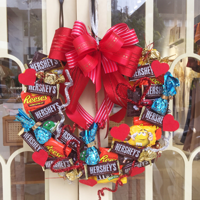 Chocolate wreath 30pcs (4mua VOT-CHW0108)