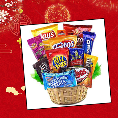Food Snack Gifts Baskets 40 packs (4mua VOT-GOU02A)