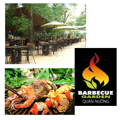Dining out Barbecue Garden Restaurant for 4 person (bonmua VRE-BG1)
