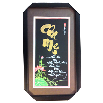 Calligraphy Wall Hanging of Filial 35x60cm (bonmua VTP-BH03A)