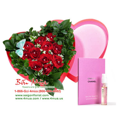 Valentine\'s Day Gifts (4mua® VALENTINE-01A) Saigon Only