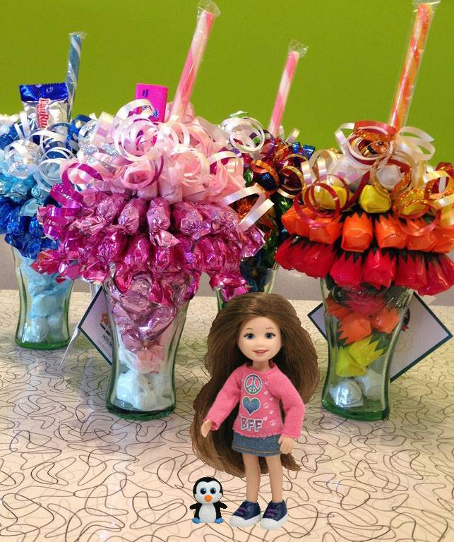 Combo gifts: Candy Chocolate bouquet + TY Li&#39l Ones Beautiful Bella Doll (4mua VOT-CHBO1703)