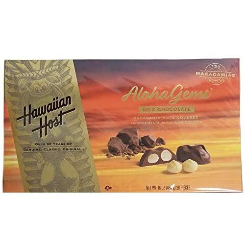 Hawaiian Host Aloha Gems Chocolate 454g (4mua VOT-CH04)