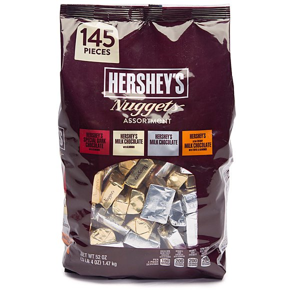 Chocolate Hershey's Nugget Assortment 1.47kg (4mua VOT-CH03BAG)