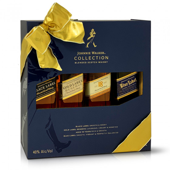 Johnnie Walker The Collection Set 4 x 200ml Bottles (4mua VOT-040SET)